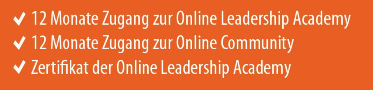 Leadership Academy Leistungen